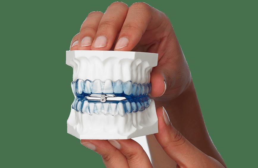 Orthoapnea, dispositivo para los ronquidos